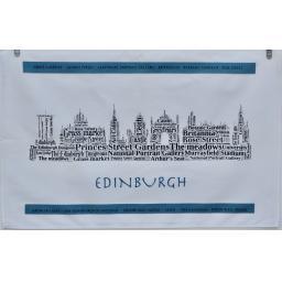 Edinburgh skyline TEA TOWEL