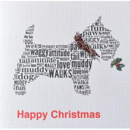 SCOTTIE DOG  WITH TINSEL order code C105