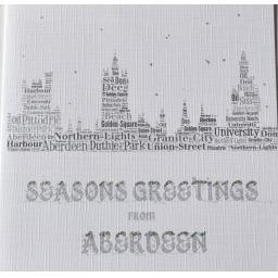 ABERDEEN SKYLINE WITH SPARKLE  order code C108