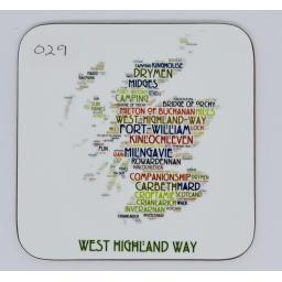coaster - West Highland Way (order code 029)