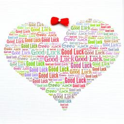 GOOD LUCK WITH BOW  order code 274