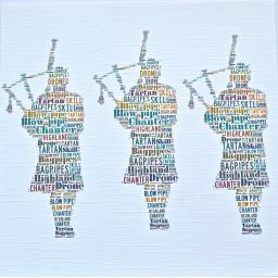 THREE PIPERS  order code 343