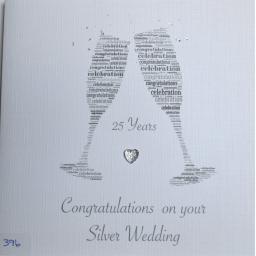 Silver Wedding - order code 396
