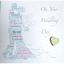 Wedding Bride and Groom - order code 432