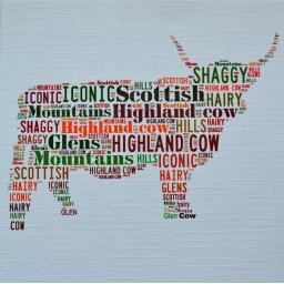 HIGHLAND COW  order code 334
