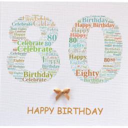 80th BIRTHDAY   order code 232