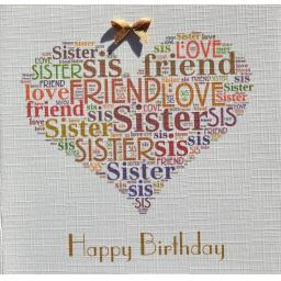 SISTER BIRTHDAY   order code 377