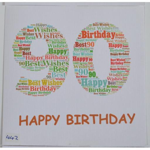 442 90th Birthday
