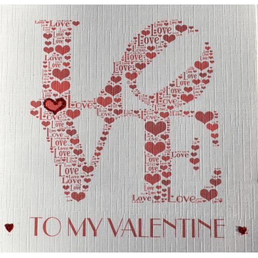 Valentine LOVE - order code 460