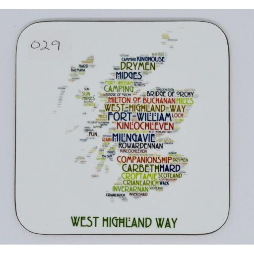 coaster - West Highland Way (order code 029)