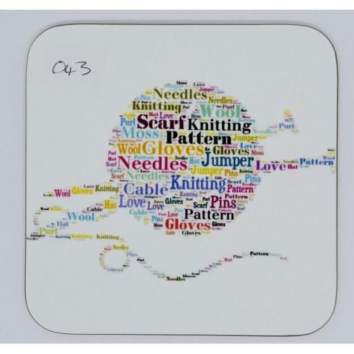 coaster - Knitting (product code 043)