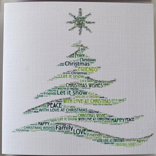 MODERN TREE (with sparkle)  order code C121