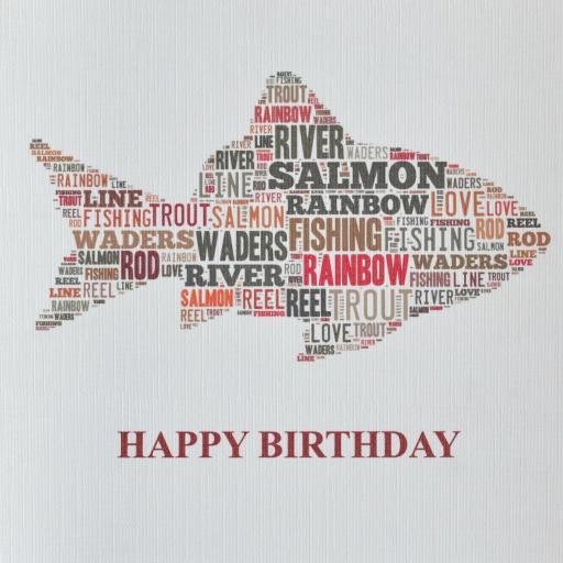 FISH HAPPY BIRTHDAY - order code 352