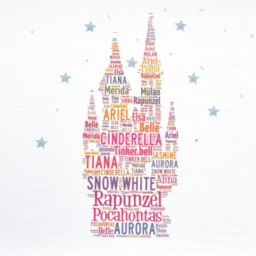 FAIRY CASTLE with sparkle (order code 285)