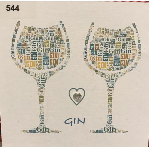 Love Gin - (order code 544)