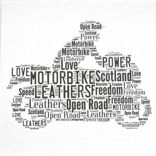 MOTORBIKE WITH RIDER (order code 387)