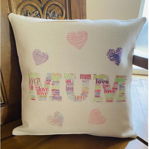 Cushion for Mum